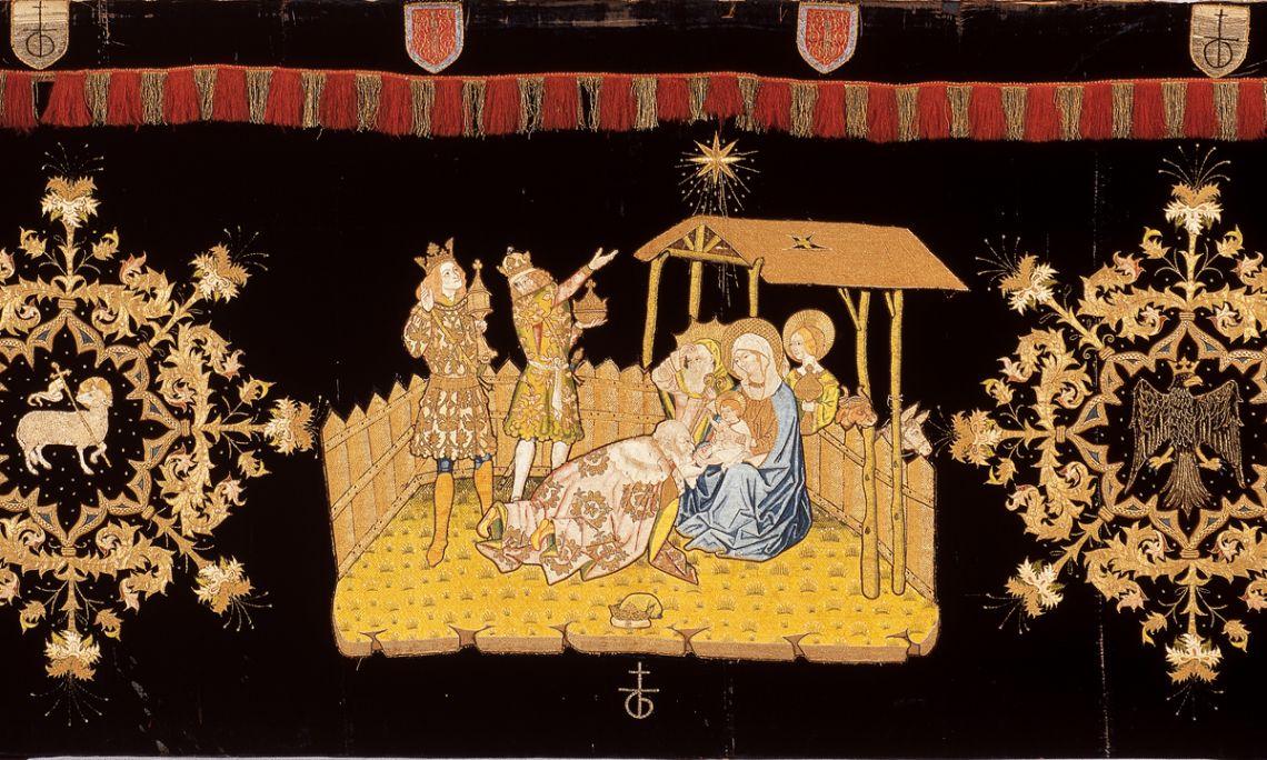 Frontal de l'Epifania, segle XV