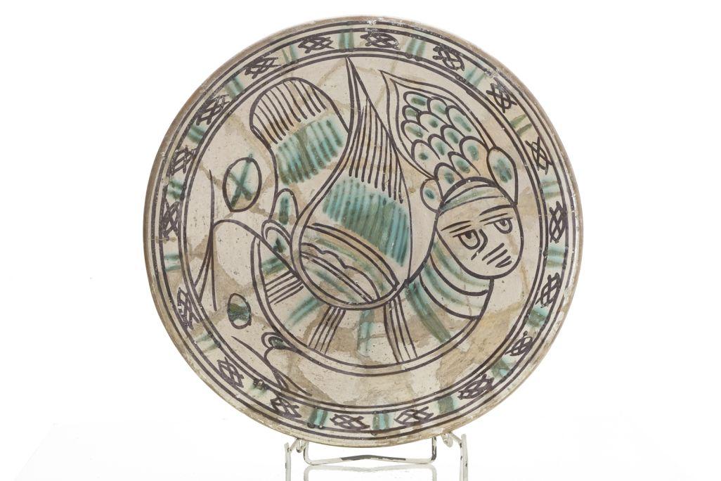 Servidora amb la representació d'una harpia, segle XIV