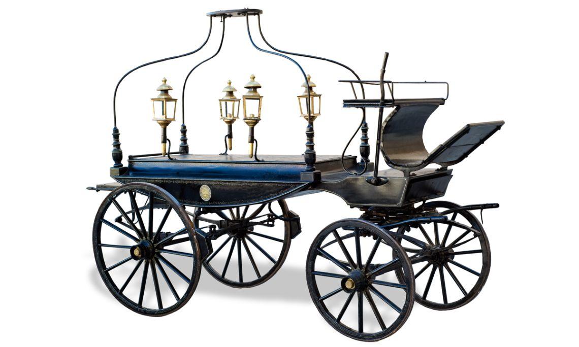 Carro fúnebre de Santa Coloma de Queralt (la Conca de Barberà).