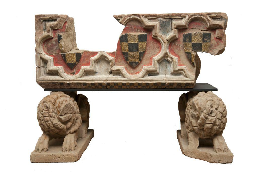 Panteón funerario del conde de Urgell Ermengol IX.