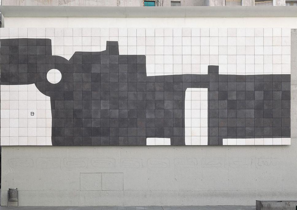 Eduardo Chillida 'Barcelona, Mural G-333', 1998