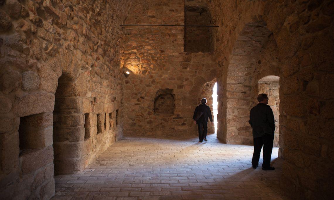 Habitacle dels defensors del monestir durant els atacs i els setges