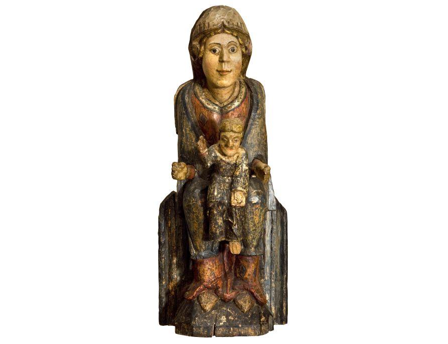 Virgen de les Agulles, siglos xii-xiii