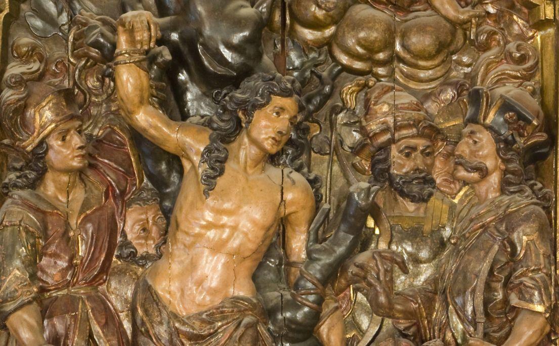 Martyrdom of Saint Sebastian, Josep Tramulles, 1652-1679