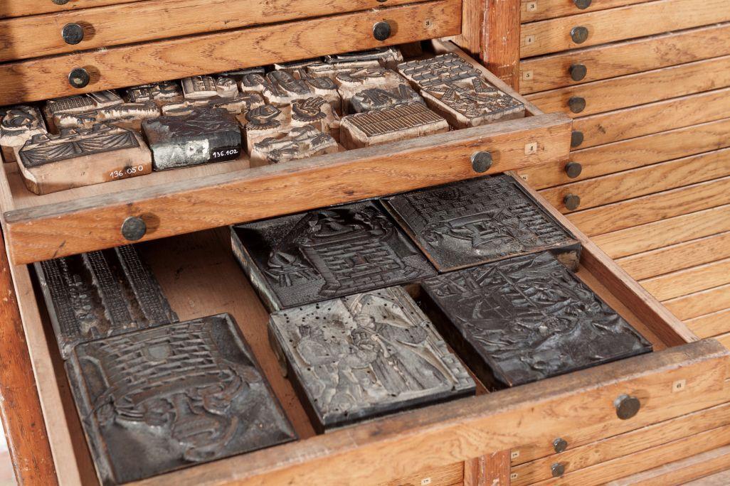 Woodblocks from the Imprenta Carreras