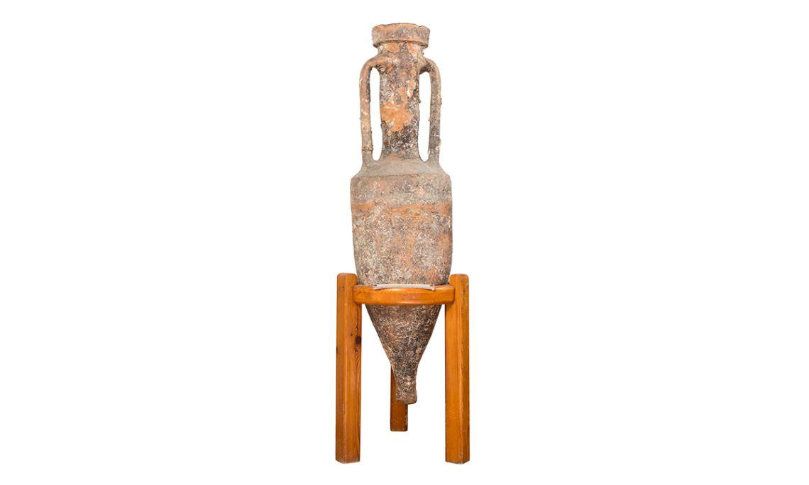 Àmfora romana dissenyada per ser transportada en rutes comercials marítimes