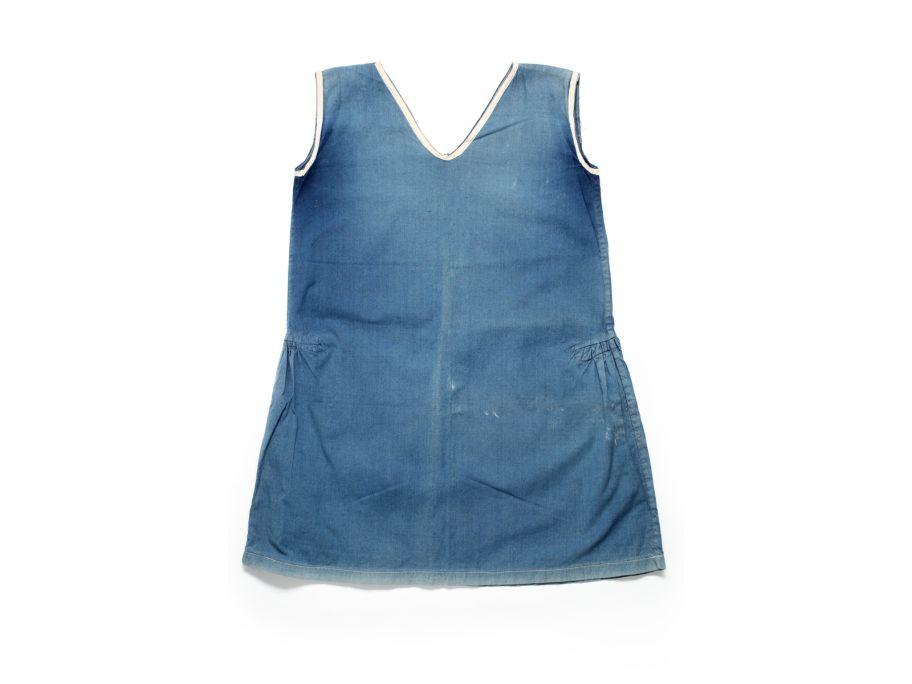 Vestit de bany de dona, 1940-1950. Donació de Joan Muray.