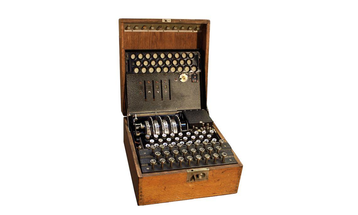 Rèplica de la màquina d'encriptar Enigma