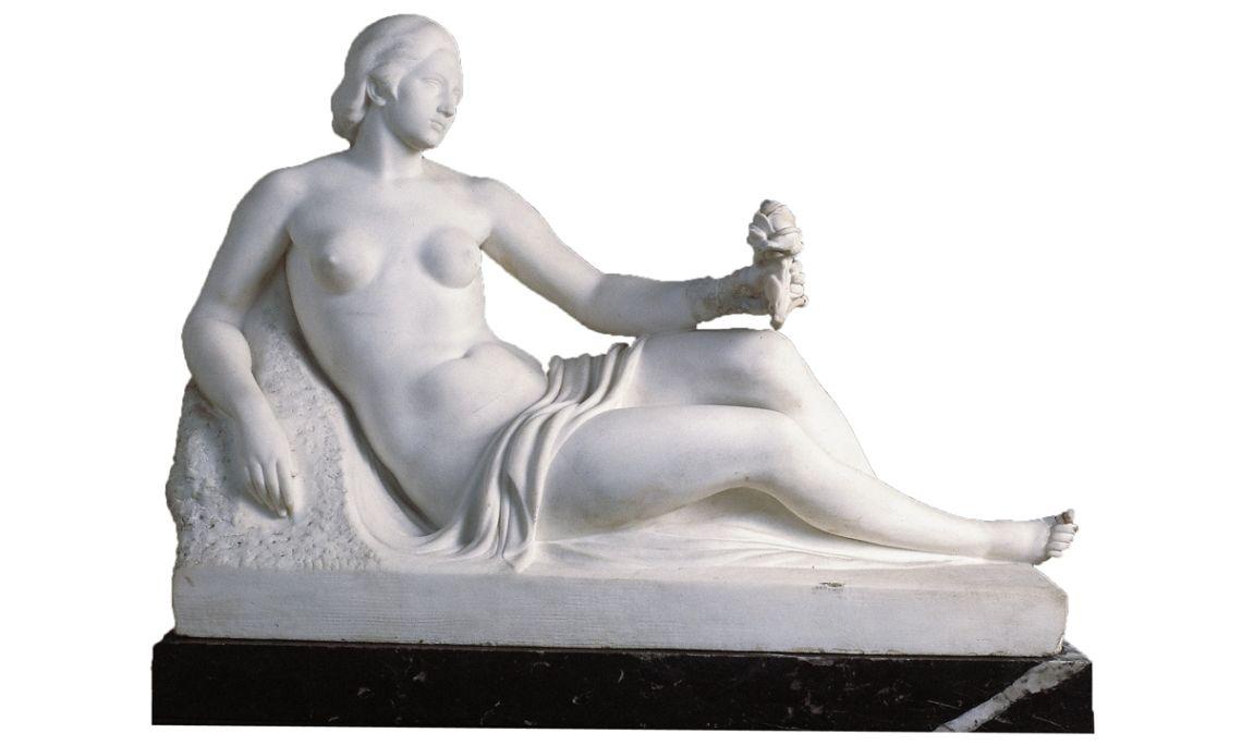 Versión del monumento a Francesc Soler i Rovirosa, Frederic Marès Deulovol, 1928, ©Museu Frederic Marès. Foto: Ramon Muro