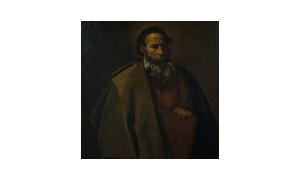 Sant Pau, Diego Velázquez, segle XVII. Oli sobre tela, 99,5 x 80 cm.