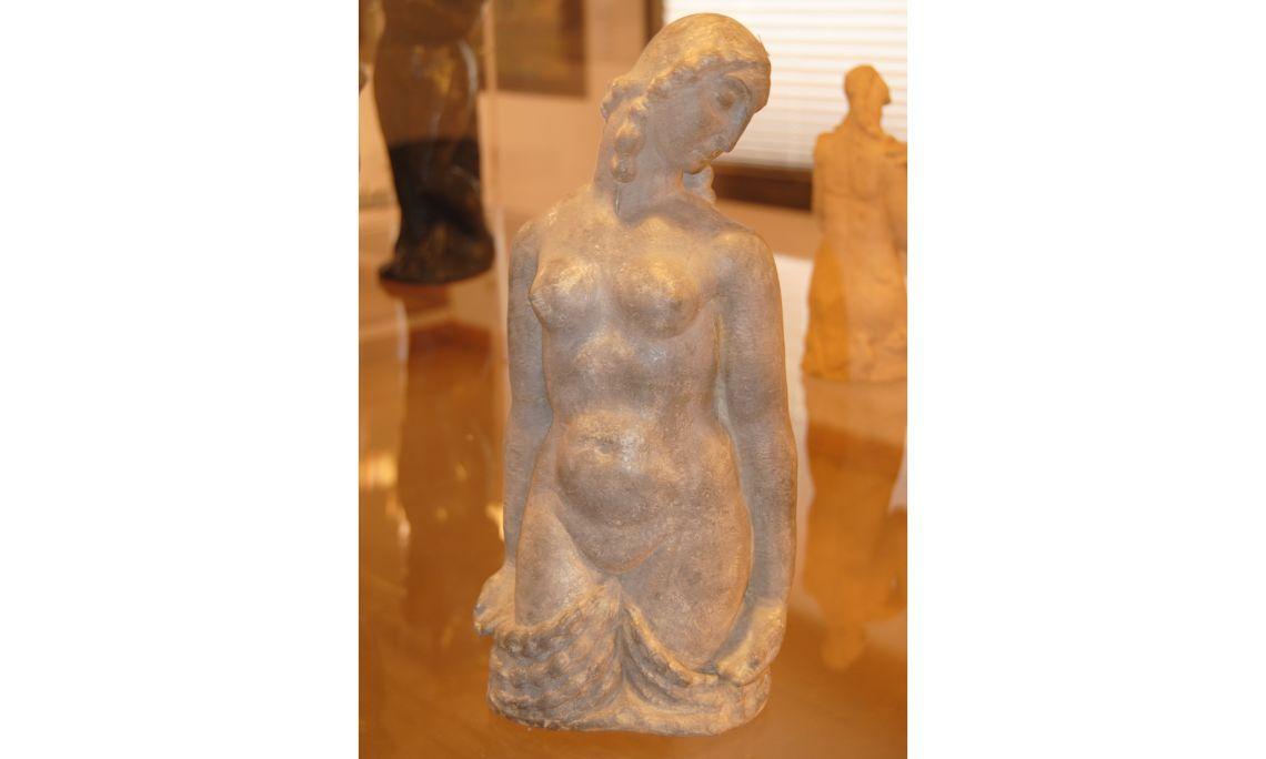 Supplication, Fidel Aguilar, 1910-1917, modelled terracotta