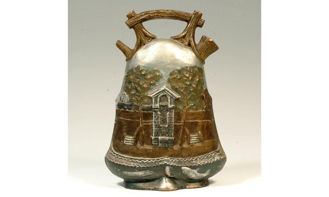 Càntir modernista, finals del segleXIX - principis del segleXX, 28,5×19,5cm, Olot (Garrotxa)