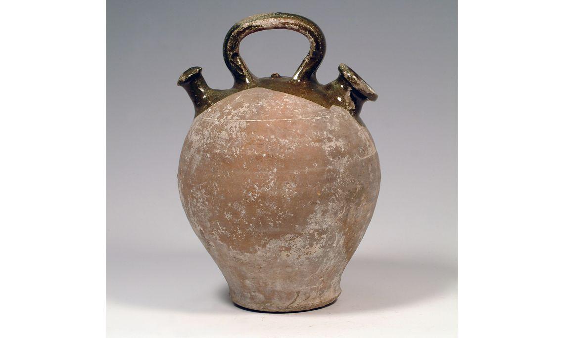 Càntir, primer terç del segleXVI, 30×21cm, Mataró (Maresme)