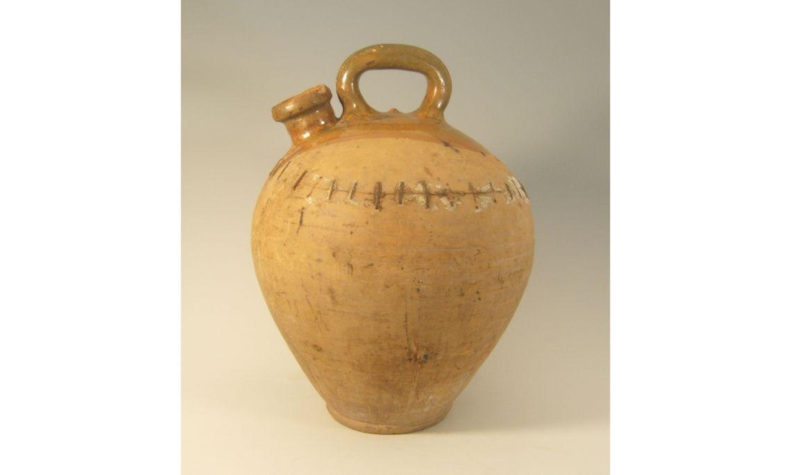 Botijo depósito, segunda mitad del sigloXIX, 49,5×37,5cm, Granollers (Vallès Oriental)