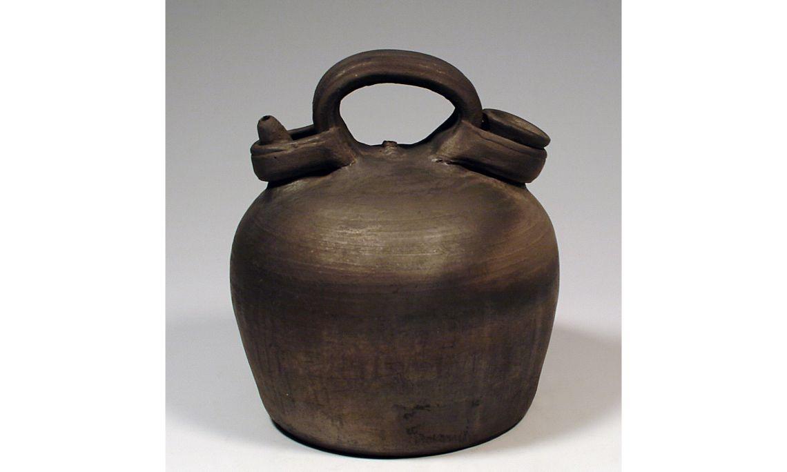 Càntir de camp, «barralina», 1976, 1,5×19cm, Quart (Gironès)