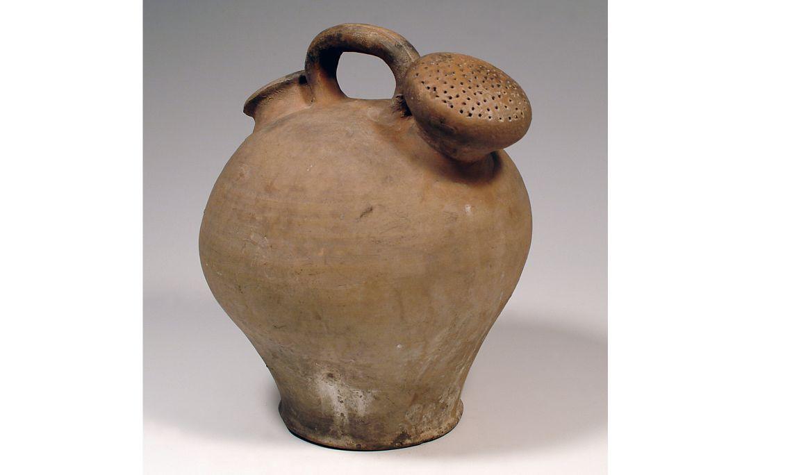 Càntir de regadora, seglesXIX-XX, 30,5×27cm, Berga (Berguedà)