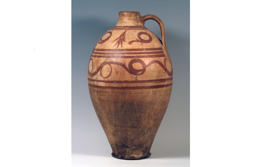 Cántaro, segunda mitad del siglo xx, 55,5×32,2 cm, Priego (Conca)