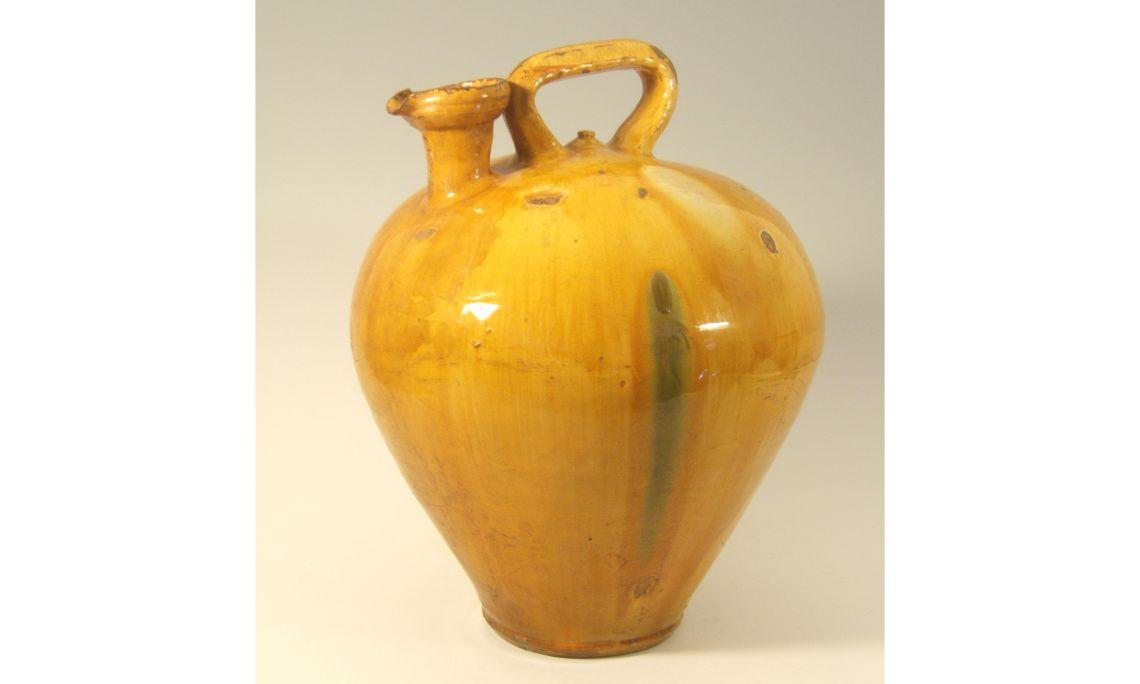 Botijo de aceite, sigloXIX, 46,5×35,3cm, Figueres (Alt Empordà)