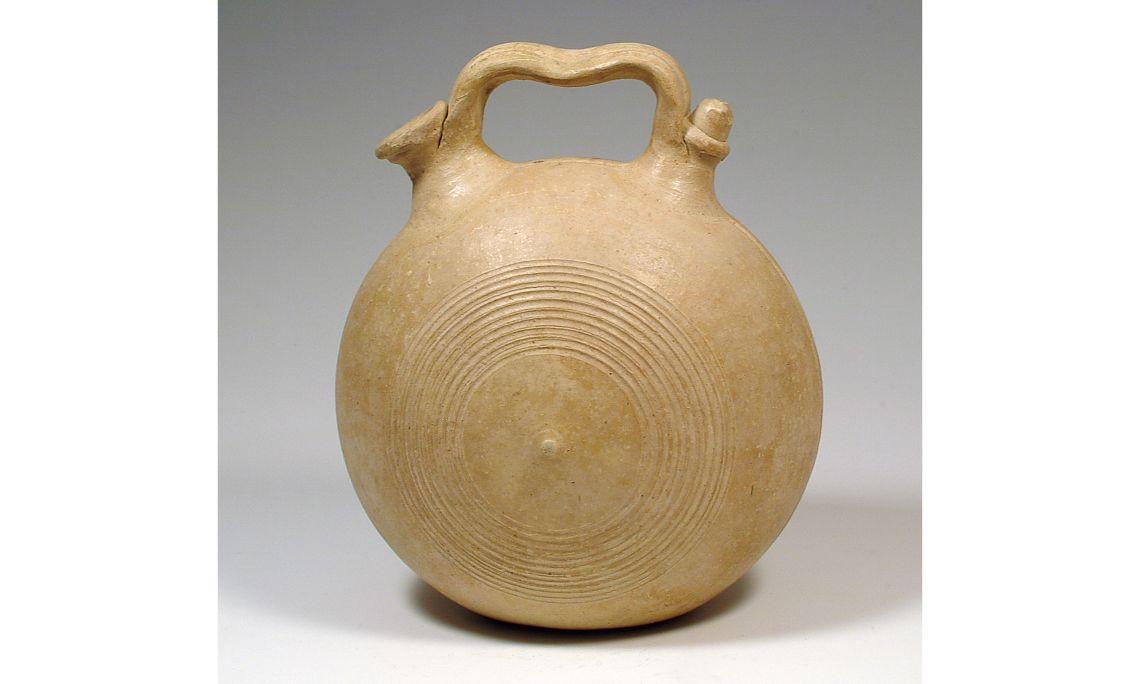 Càntir cantimplora, segleXX, 31×25cm, Priego (Conca)