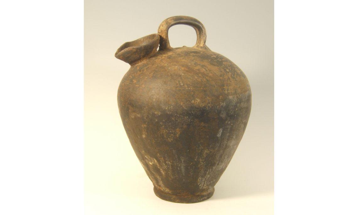 Botijo de aceite, finales del sigloXIX, 48×42cm, Vilafranca del Penedès (Alt Penedès)