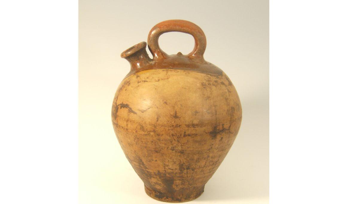 Botijo depósito, primera mitad del sigloXX, 30×25cm, Cataluña