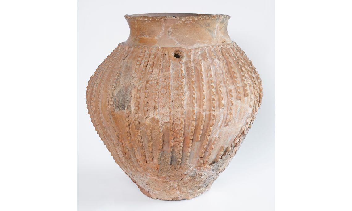 Vase céramique, époque néolithique, Cova del Segre (Baronia de Rialb)