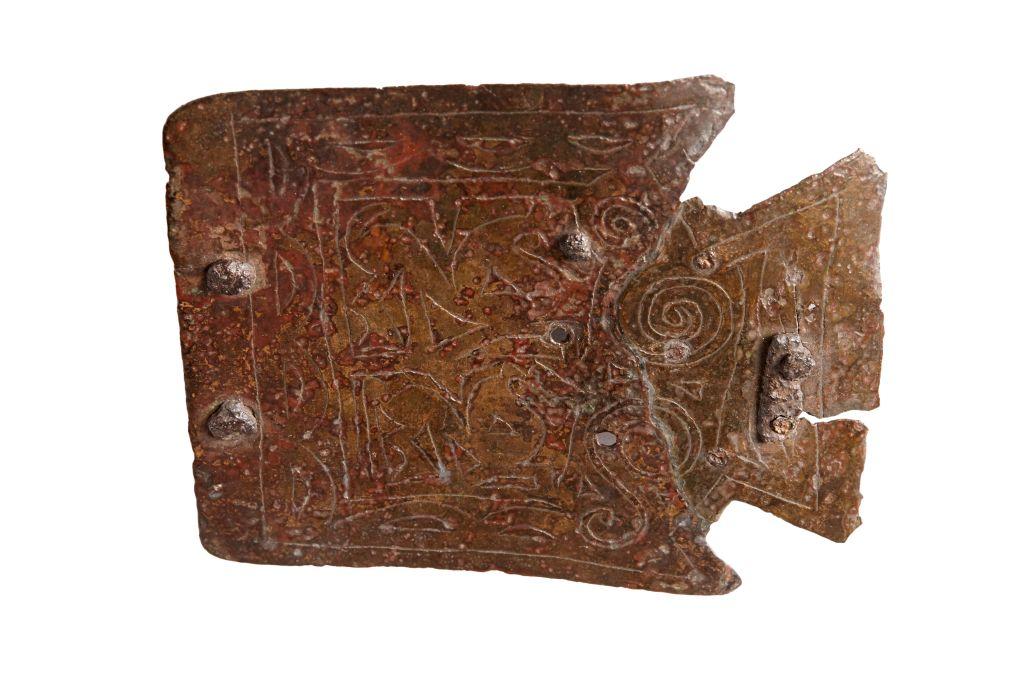 Boucle de ceinture, gisement ibérique de Sant Miquel de Sorba (Montmajor, Berguedà)