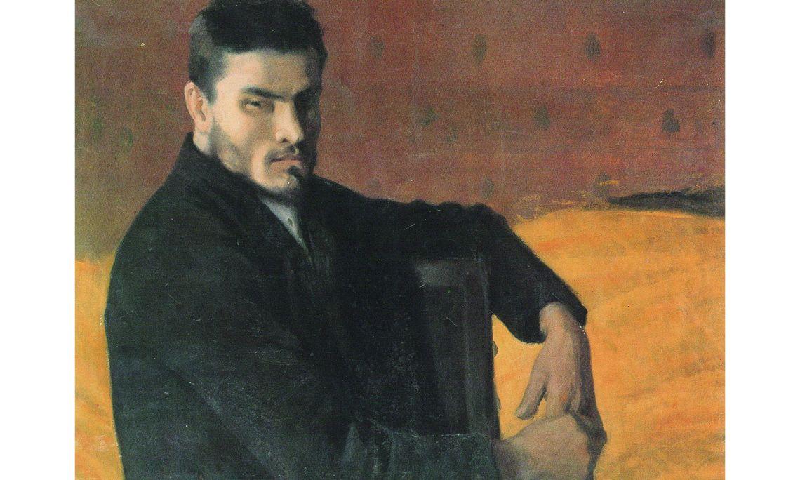 Santiago Rusiñol, Retrat de l'escultor Carles Mani, 1895, París, oli sobre tela