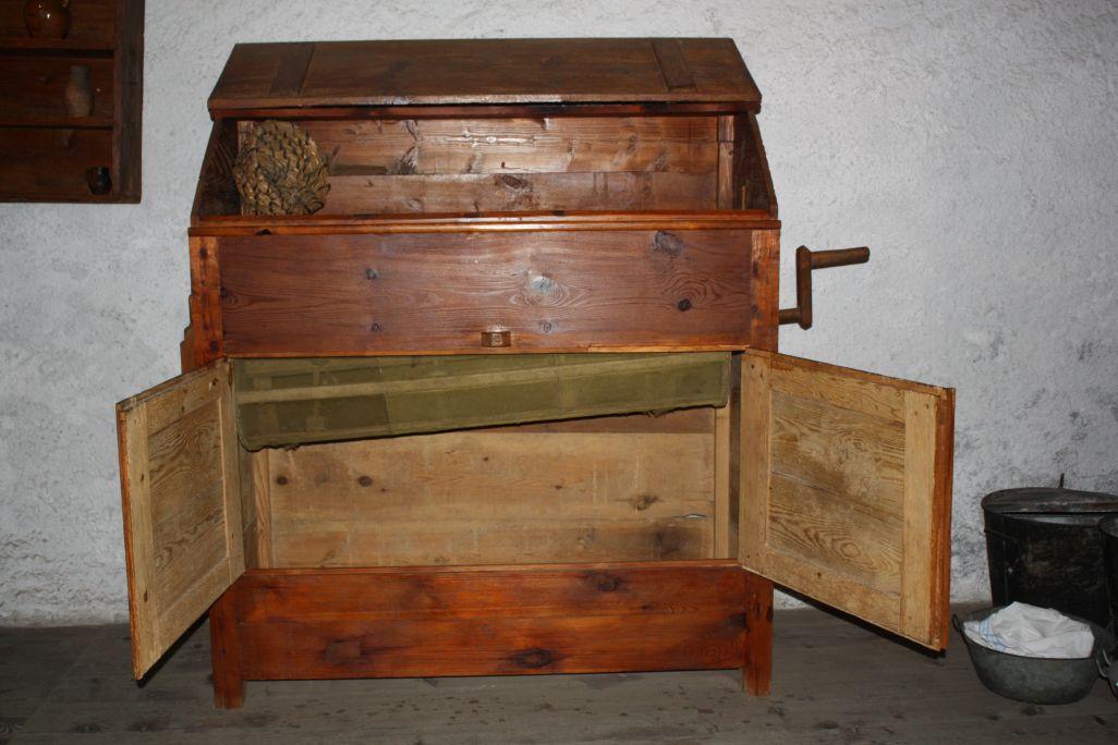 Les tamis étaient des objets courants dans les maisons du Val d'Aran, car toutes ne disposaient pas de blutoir