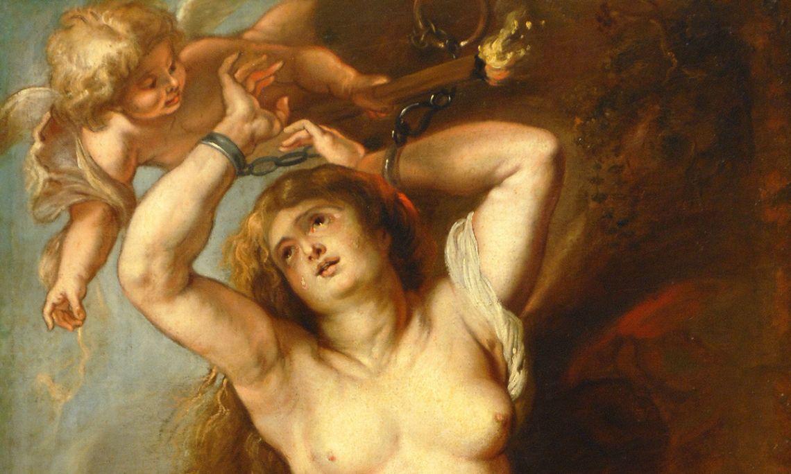Andròmeda encadenada, Peter Paulus Rubens, 1634. Oli sobre tela, 193×104 cm.