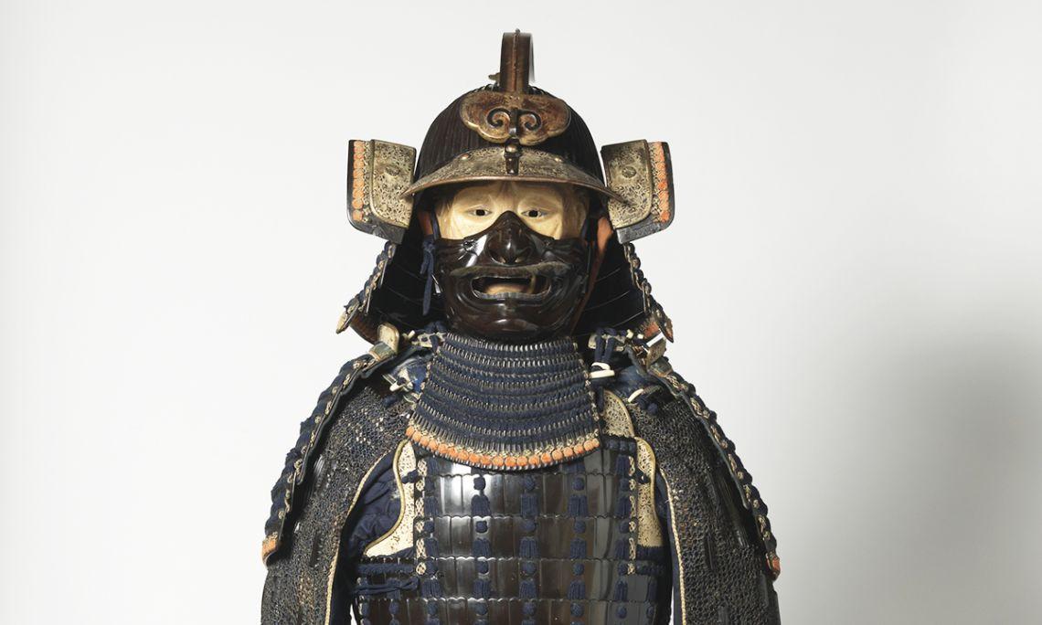 Armadura de samurai amb finalitats decoratives del segle XIX. Donació d'Eduard Toda i Güell, 1884.