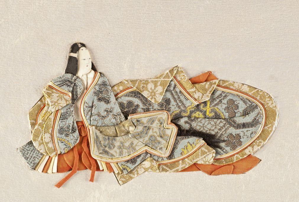 Onna KasenLlibre d'artista amb textos de les millors poetesses japoneses del segles VII al XIV.Japó, s. XIX. Foto Quico/CDMT