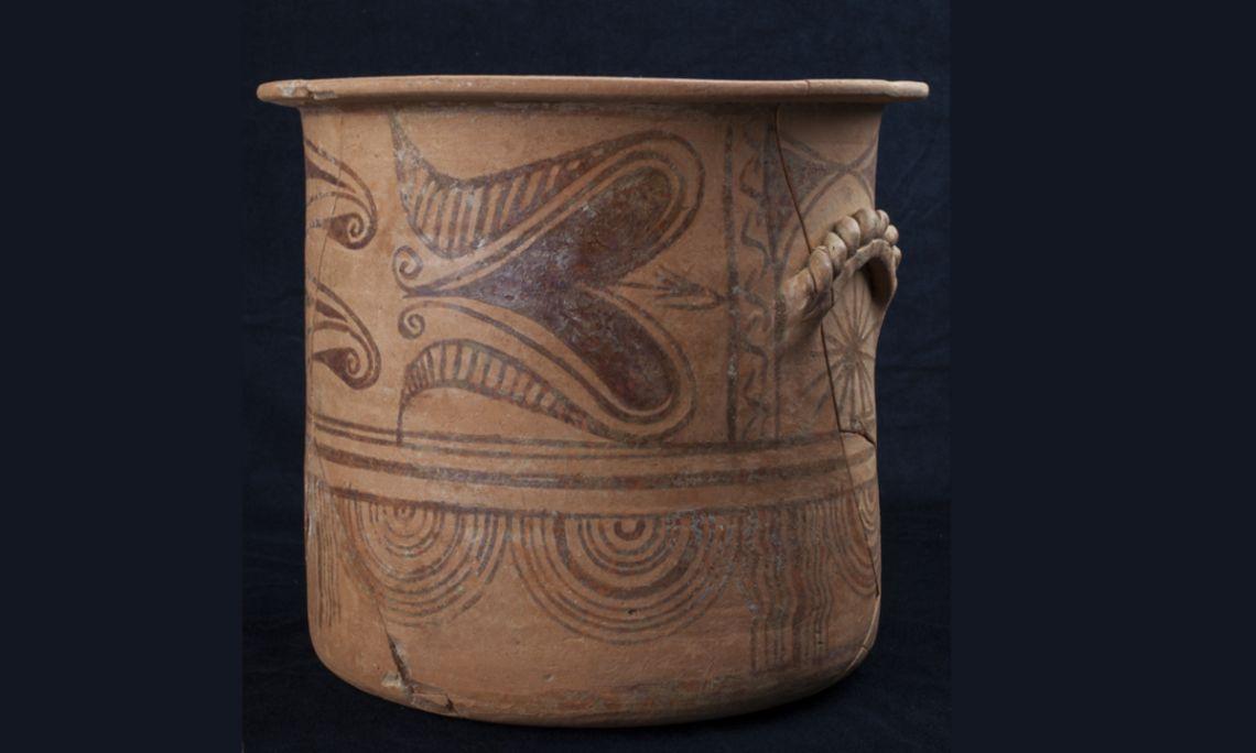 Cálato, cerámica común íbera, Bosc del Congost (Sant Julià de Ramis, Gironès), época ibérica,225-175a.C.
