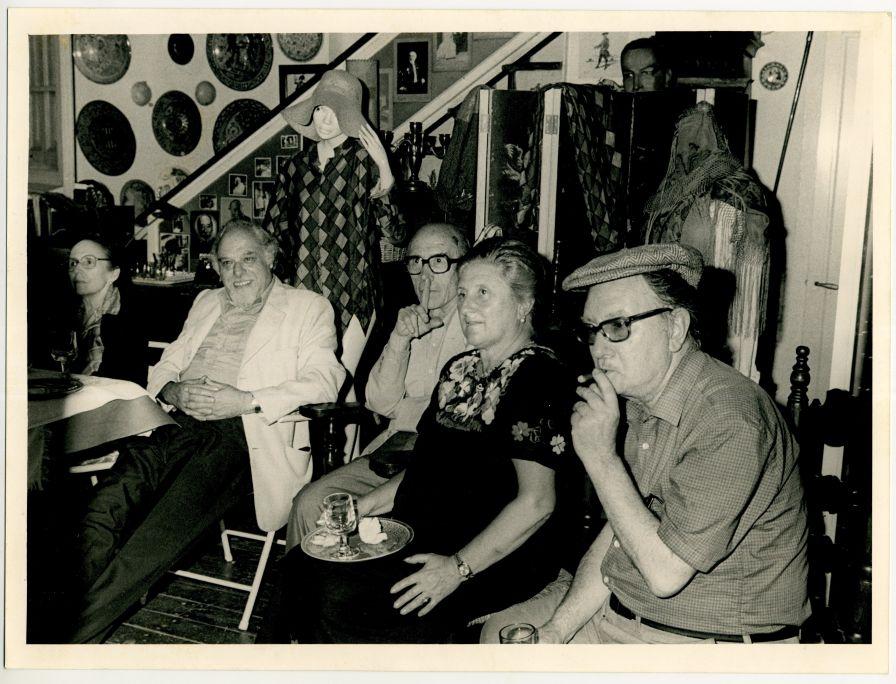 Fotografia trobada a l'estudi d'Abelló i Brossa, 1981