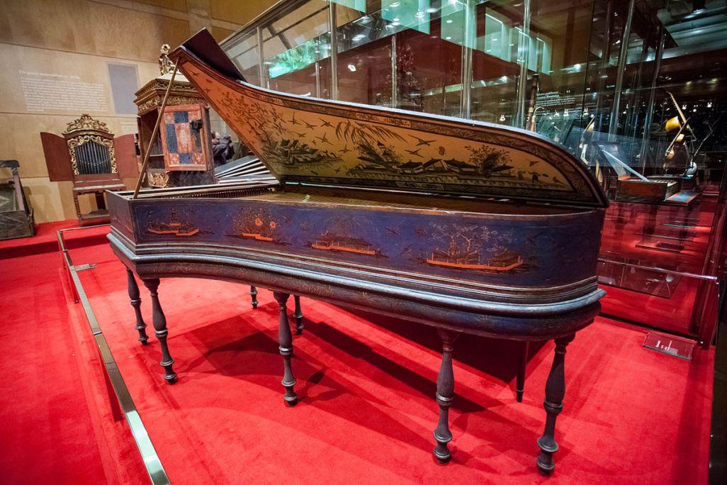 Christian Zell harpsichord (Hamburg), 1737. CC-BY Sara Guasteví