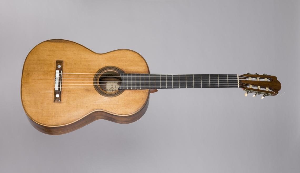 Guitarra Antonio de Torres Jurado (Séville), 1859. © Rafael Vargas