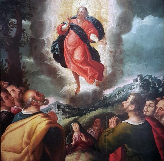 Ascensió de Crist,Antoni Rovira i Pau Torrent (1630-1635)