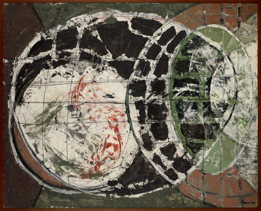 Lluís Trepat i Padró 1959 Acrylique sur tablex