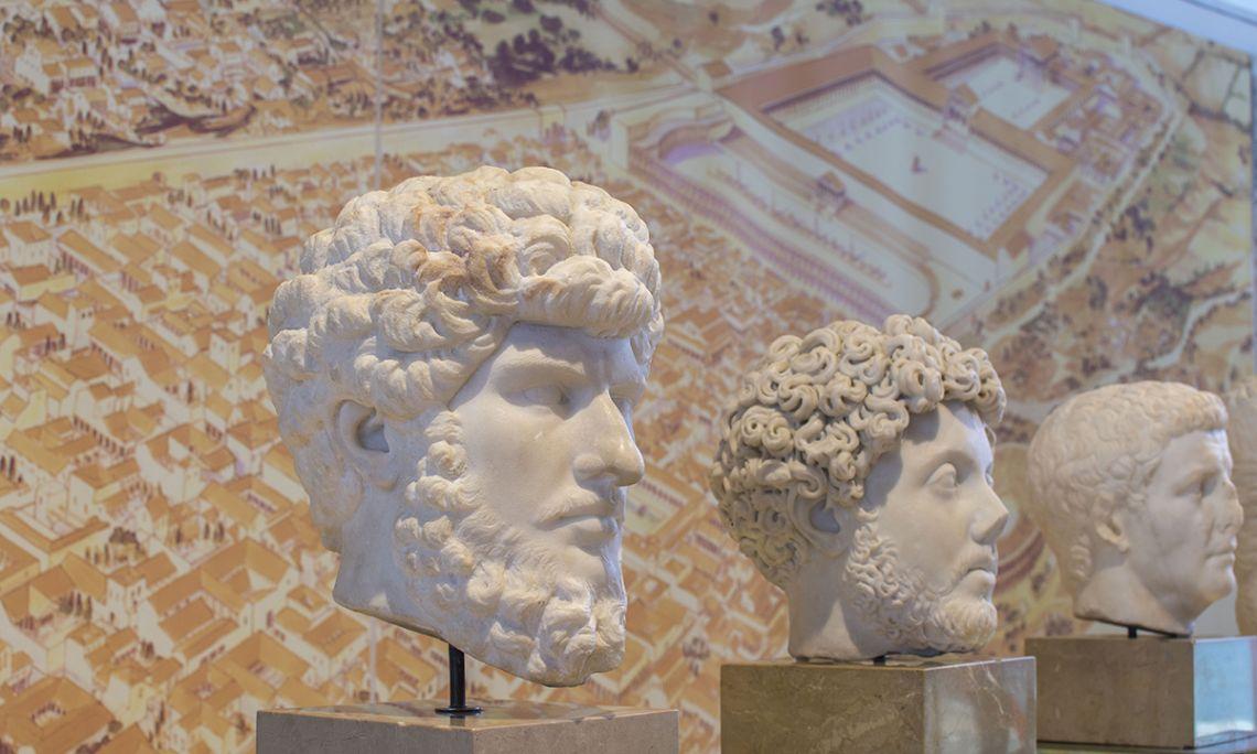 Representación del emperador Lucio Vero