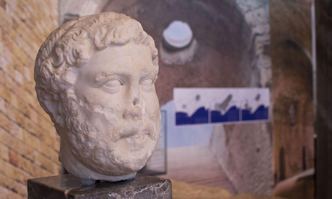 Retrato oficial del emperador Adriano