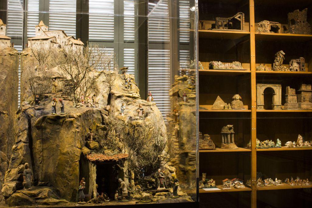 Figuras de pesebre de la colección Renart del Museo de los Santos. Foto: Blai Farran.
