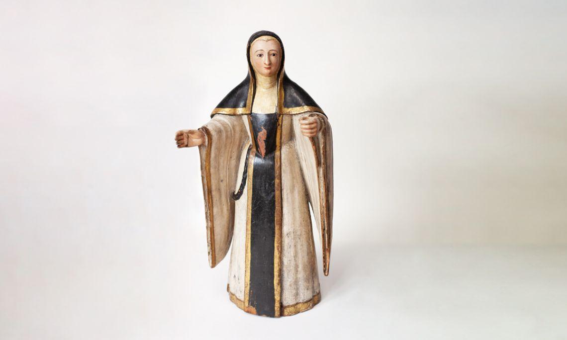 Número de registre: 308 Tall de Santa Cistercenca. Segle XVI.