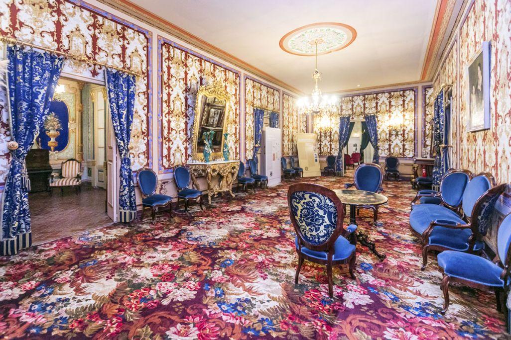 Sala de recibir de la casa Turull, primer piso