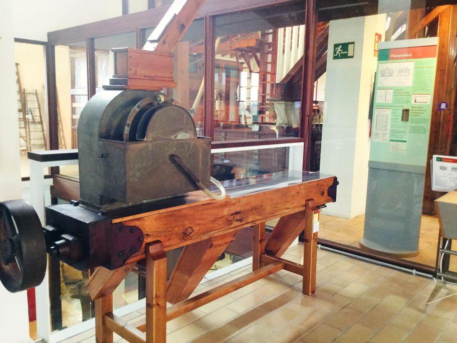 El rociador de la antigua harinera 'Sant Salvador' de Figueres.