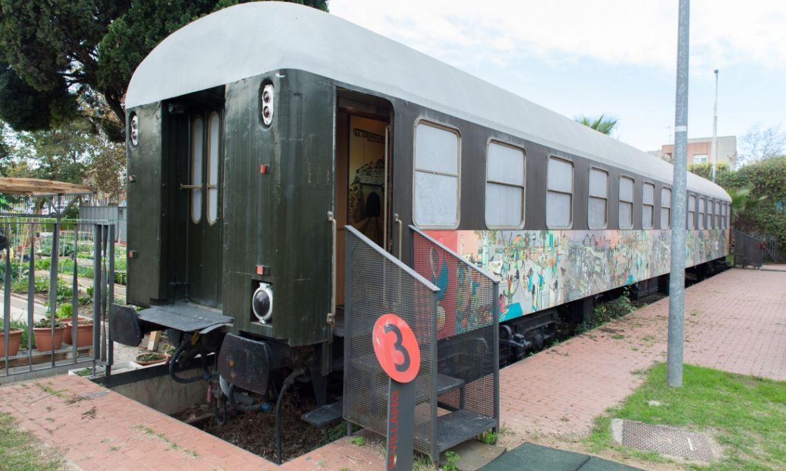 Wagon du Sevillano, 1956, Collection Musée d'histoire de l'immigration de Catalogne.