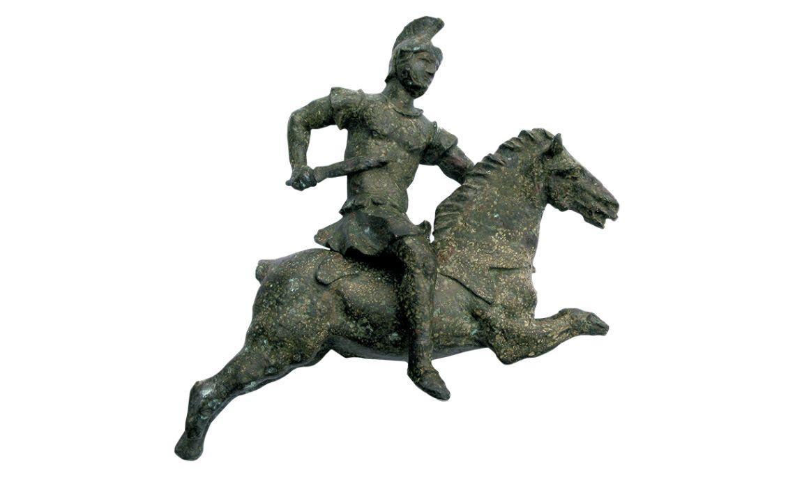 Genet romà de bronze d'època alt imperial.