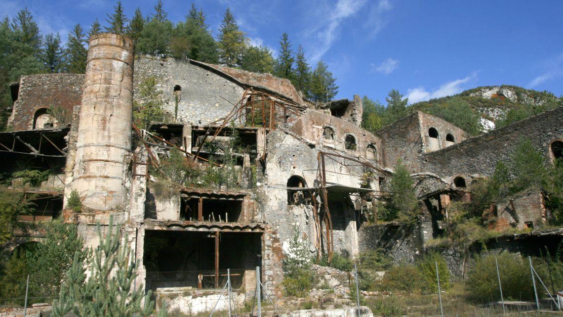 Zona de los antiguos hornos rotatorios