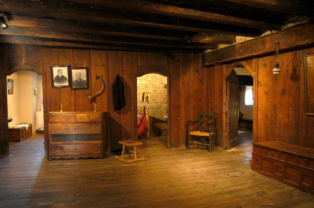 Eth mobiliari e es pèces que se mostrauen ena sala indicauen er estatus sociau dera família.
