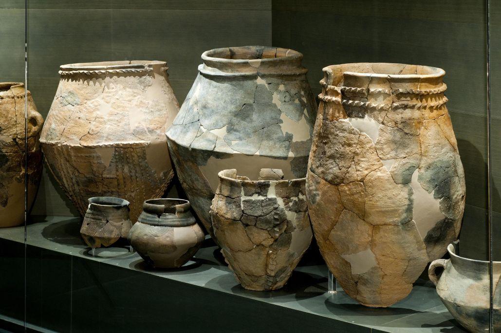 Ceramic pottery from Genó (Aitona).