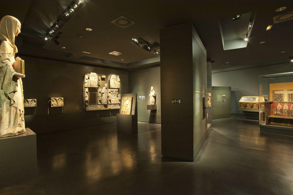 La col·lecció d'art gòtic del museu és una de les grans fortaleses de la institució.